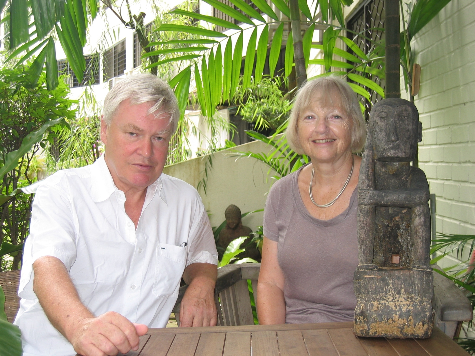 Hugh & Clare from Castanet, France