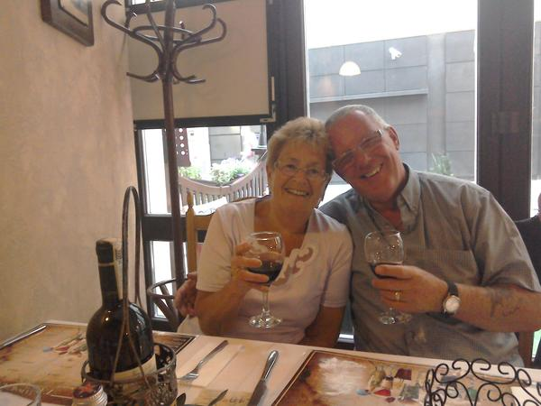 Christine & Fred from Birmingham, United Kingdom