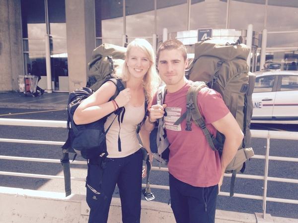 Rianna & François from San José, Costa Rica