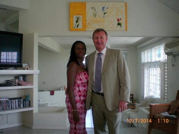 Andrew & Felicia from Cockburn Town, Turks and Caicos Islands