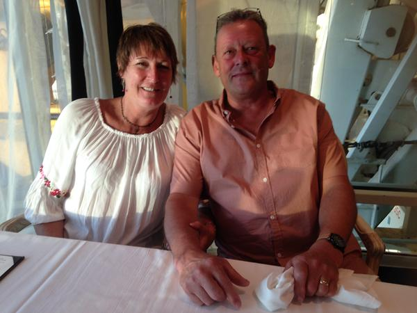 Christine & Derrin from Maidstone, United Kingdom