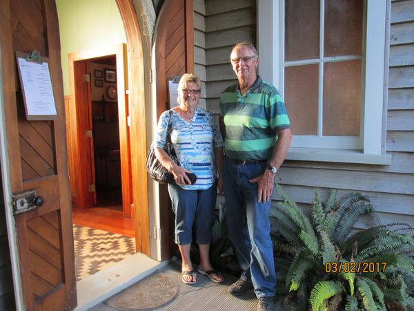 Diane & wayne & Wayne from New Plymouth, New Zealand