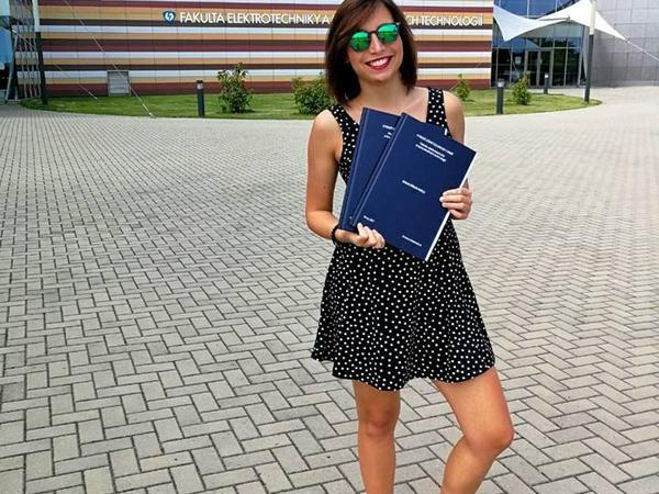 Kristina from Brno, Czech Republic