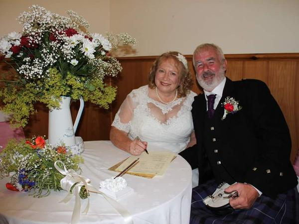 Pauline & Ian from Dundee, United Kingdom