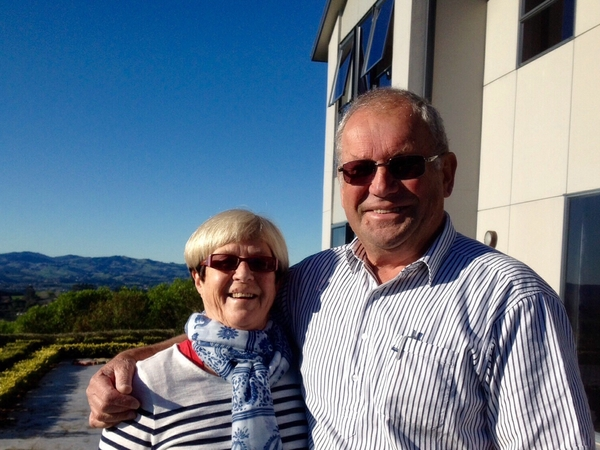 Denise & Graham from Masterton, New Zealand