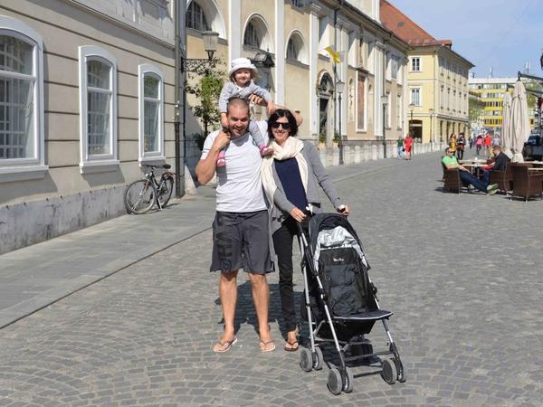 Bjorn & Anja from Ljubljana, Slovenia