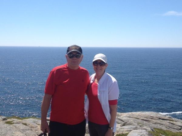 Derek & Suzanne from Halifax, Nova Scotia, Canada
