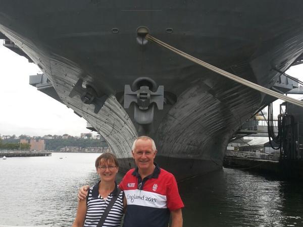 Carol & Anthony from Heathfield, United Kingdom