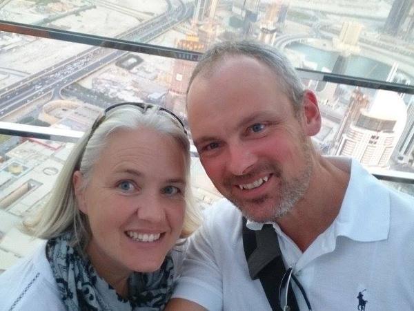 Tracy & John from Newquay, United Kingdom