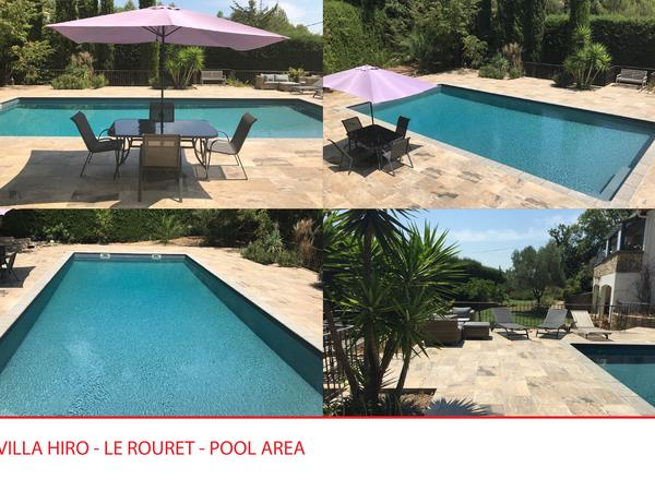 Housesitting assignment in Le Rouret, France