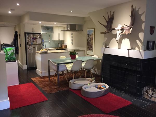 Housesitting assignment in Kitsilano, British Columbia, Canada