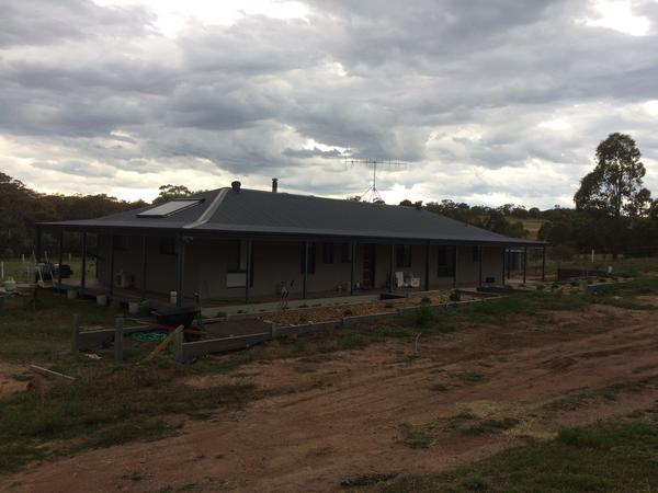 Housesitting assignment in Gundaroo, New South Wales, Australia