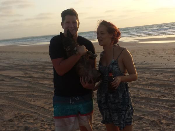 Charlotte & Andrew from Scarborough, Western Australia, Australia
