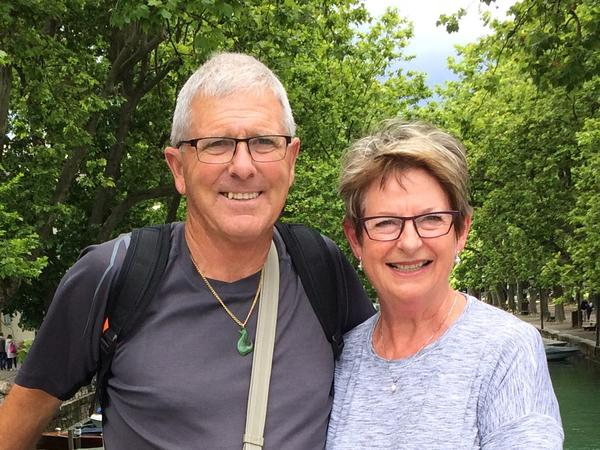 Kay & Wayne from Christchurch, New Zealand