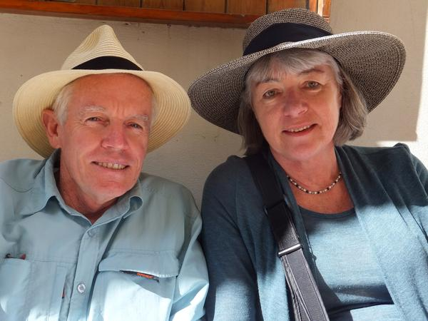 Peter & Lynette from Nowra, New South Wales, Australia