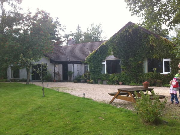 Goose, chickens and great countryside close to Edinburgh