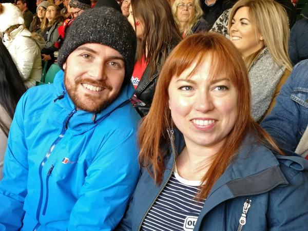 Patricia & Andrew from Cardiff, United Kingdom