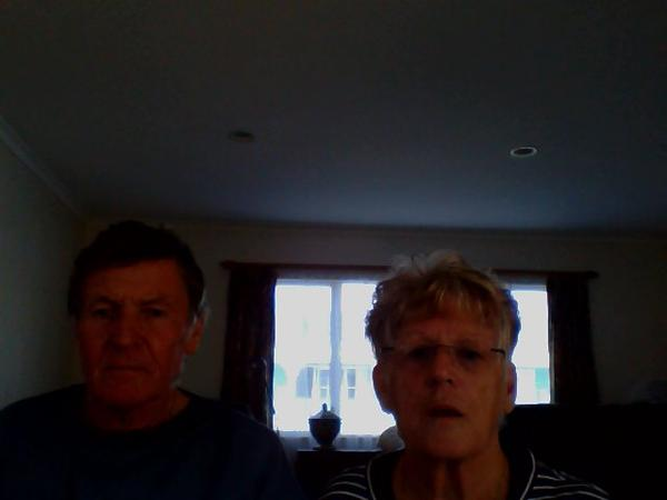 Ann & Peter from Gisborne, New Zealand