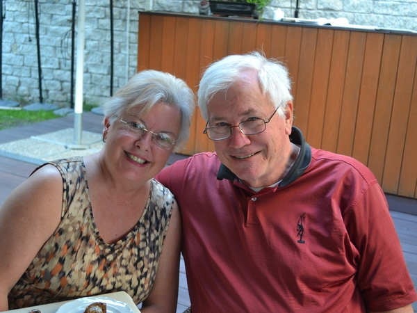 Eileen & Richard from Orford, New Hampshire, United States