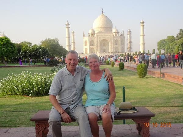 Jacqui & Robert from Exeter, United Kingdom
