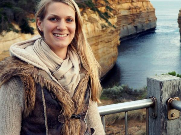 Carolin from Brisbane, Queensland, Australia