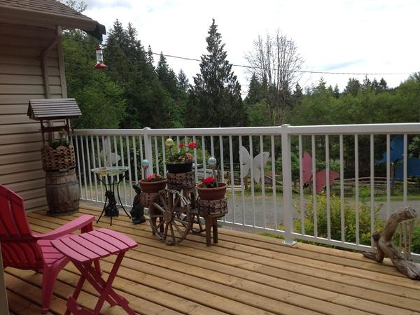 Housesitting assignment in Ladysmith, BC, Canada
