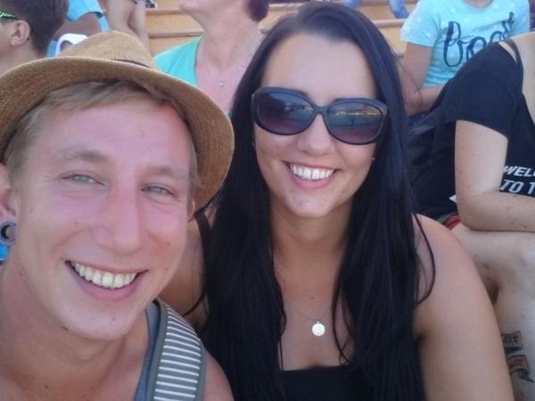 Simon & Terri from Coventry, United Kingdom