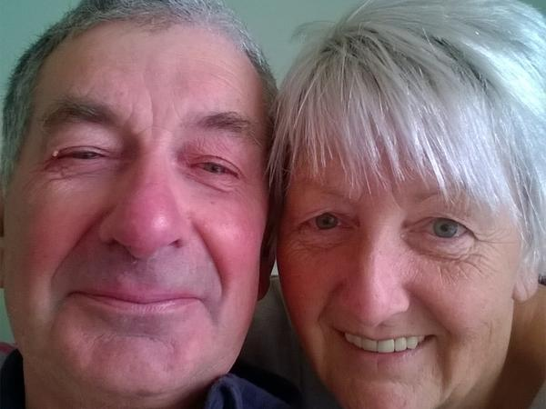 Sandra & Wilfred from Nottingham, United Kingdom