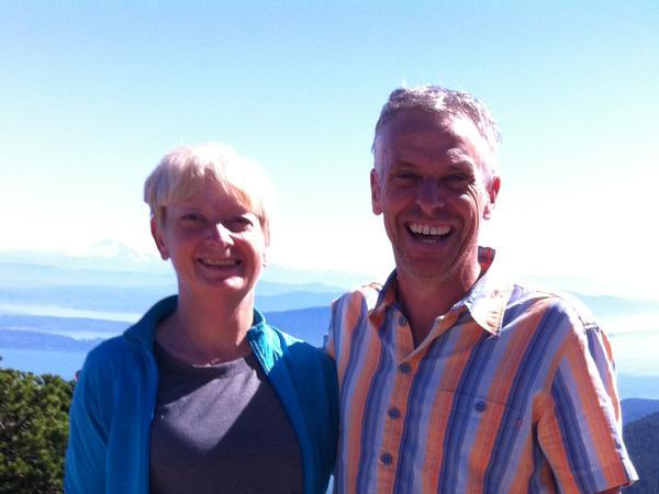 Rondi & David from Van Anda, British Columbia, Canada