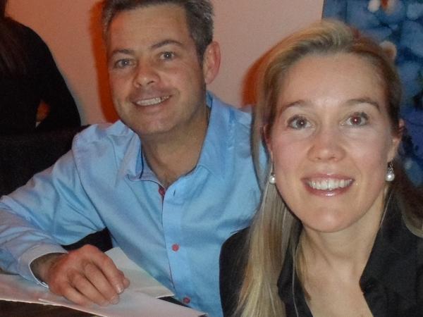 Katherine & Stuart from Oxford, United Kingdom
