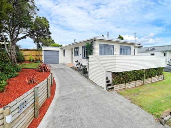 Short sit in February with Basset Hound - Kumeu, North Auckland (wine country!)