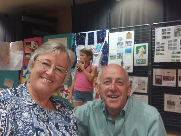 Theresa & John from Congrier, France