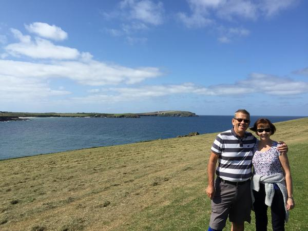 John & Eileen from Padstow, United Kingdom