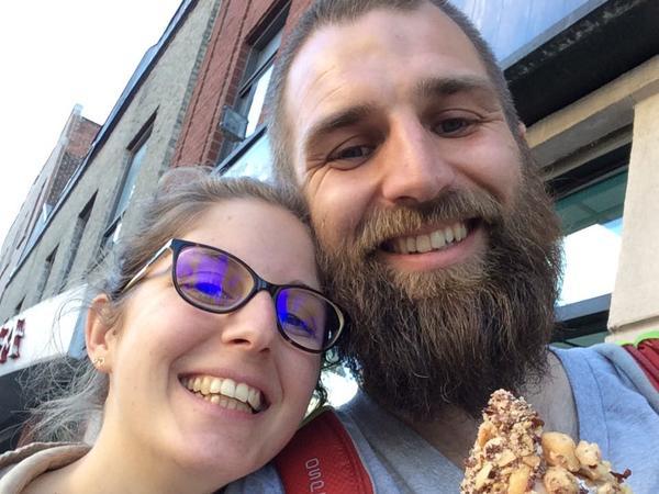 Pauline & Simon from Montréal, Quebec, Canada