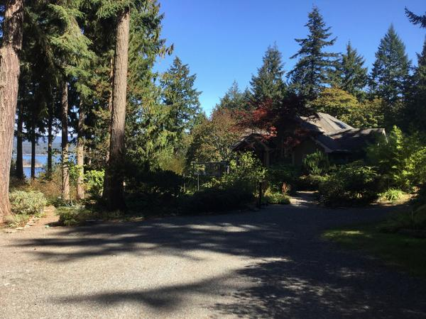 Housesitting assignment in Beaver Point, British Columbia, Canada