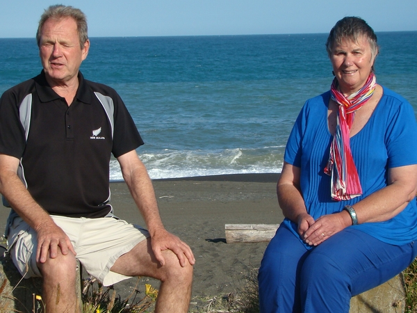Katherine & Hugh from Napier, New Zealand