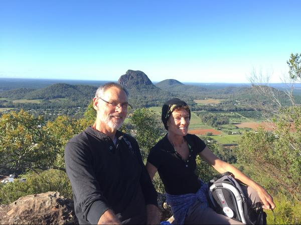 Valerie & David from Glass House Mountains, Queensland, Australia