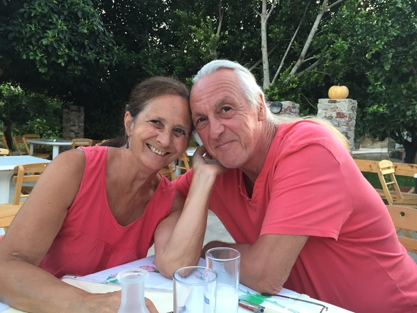 Lyn & Iain from Palaióchora, Greece