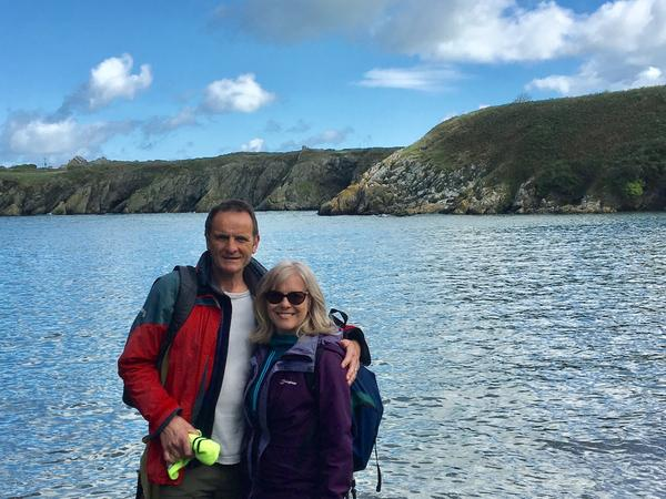 Liz & Harvey from Oswestry, United Kingdom