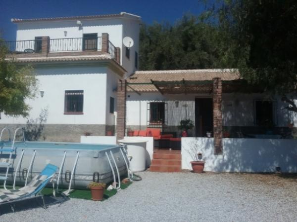 Looking for dog and cat sitters to stay in our cortijo near the white washed village of Competa in Southern Spain.