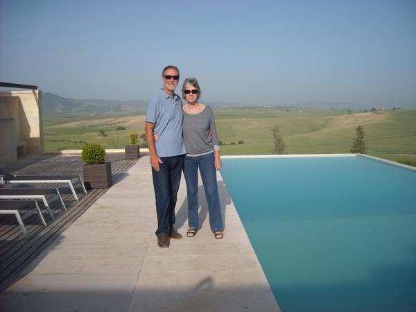 Terrence & Brenda from Udine, Italy
