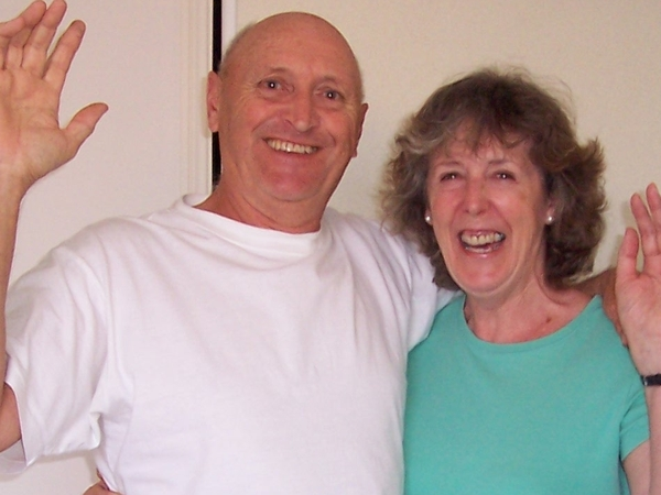 Roy & Jean (my wife) from Coombe, United Kingdom