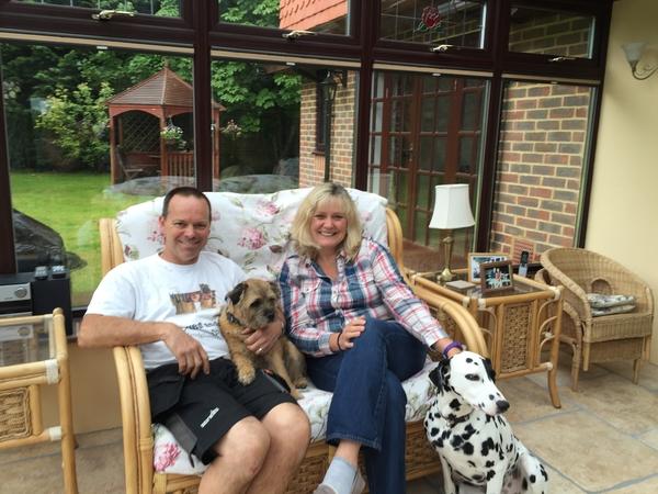 Pamela & Christopher from Haywards Heath, United Kingdom