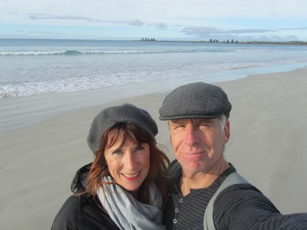 Ursula & Grant from New Plymouth, New Zealand