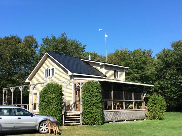 Housesitting assignment in Yarmouth, Nova Scotia, Canada