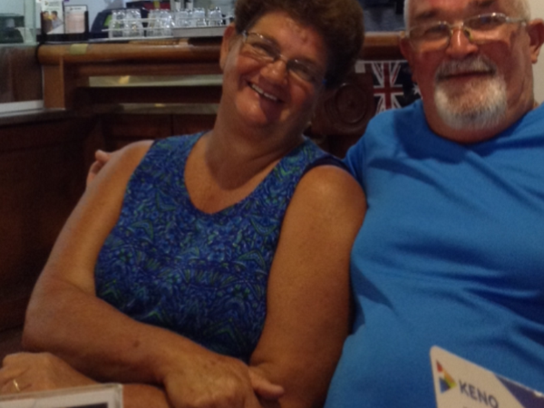 Barbara & Christopher from Mount Isa, QLD, Australia