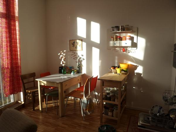Small & lovely Berlin apartment with 2 cats