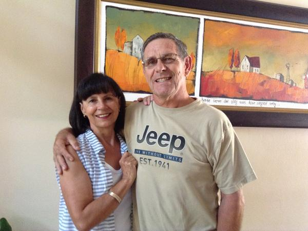 Susan & Gerhard from Ballito, South Africa