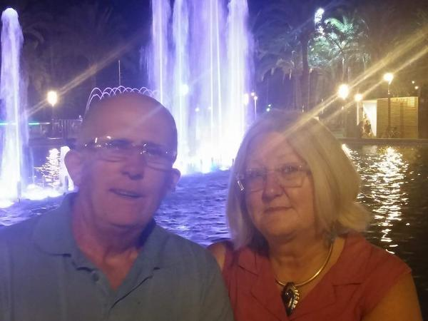 Grace & Gerald from Freginals, Spain