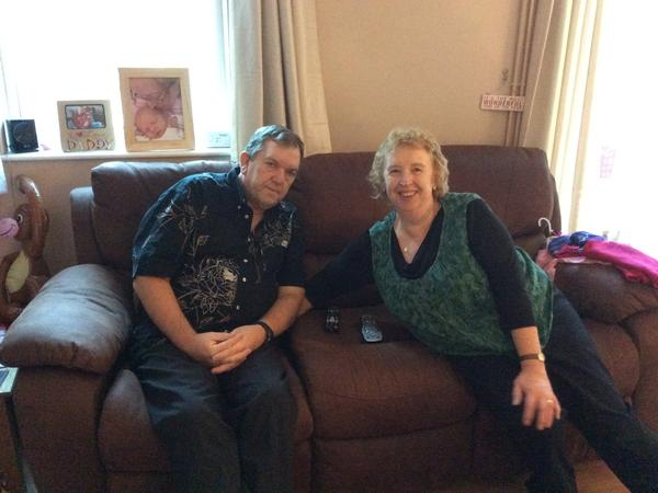 Karen & Richard from Cholet, France